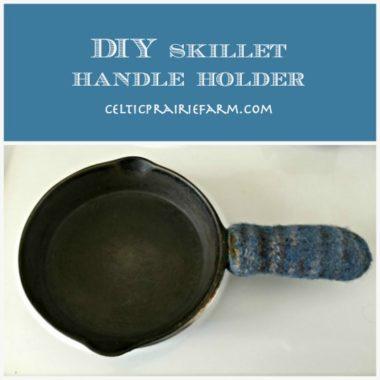 DIY Skillet Handle Holder