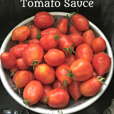 The Best Homemade Tomato Sauce!
